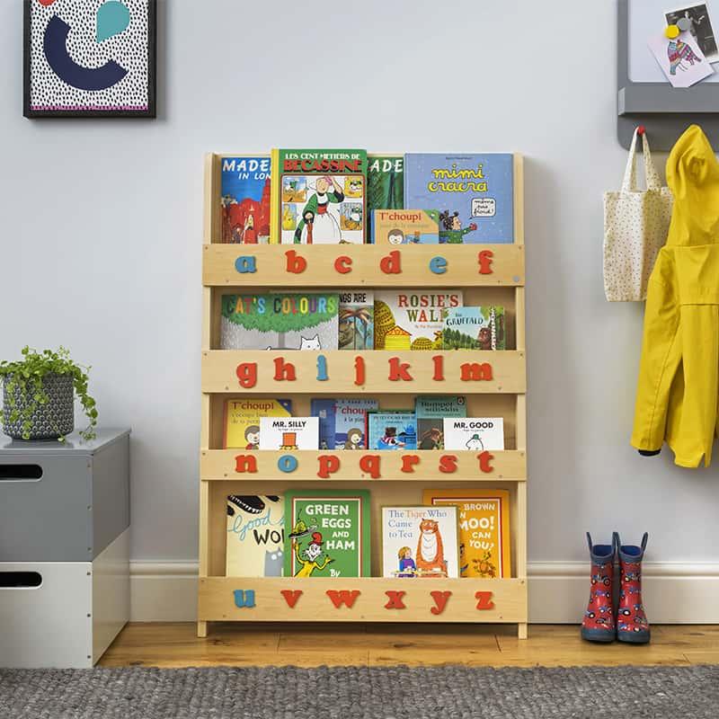 Libreria Frontale per Bambini - Alfabeto Montessori