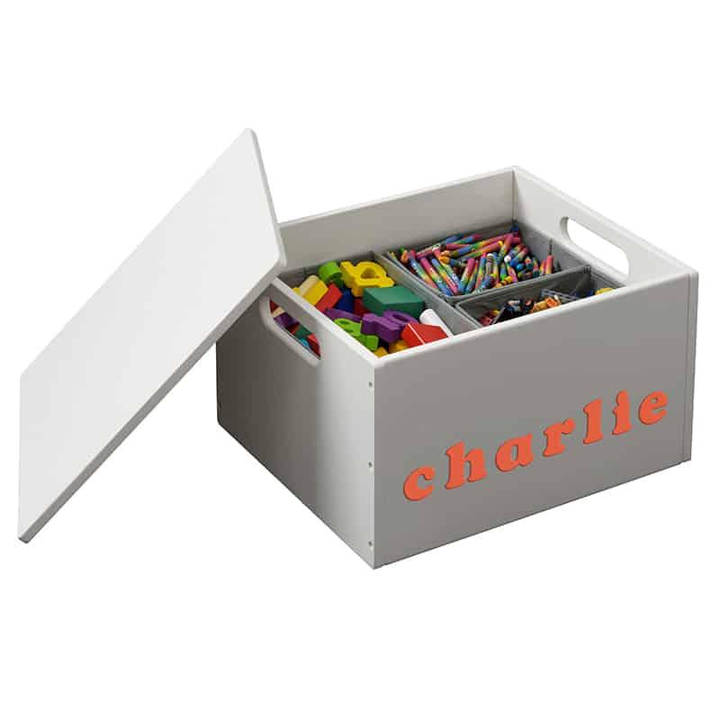 Personalizza il contenitore portagiochi